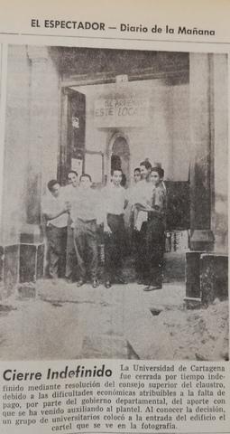 El caso de la Universidad de Cartagena.