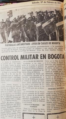 El caso de Bogotá.