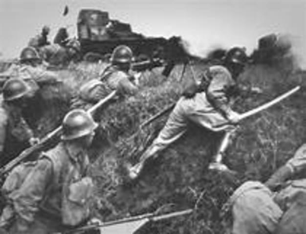 Beginning of Second Sino-Japanese War