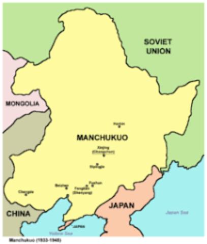 Manchukuo Established