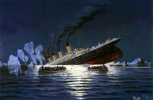 1912 - O Desastre do RMS Titanic