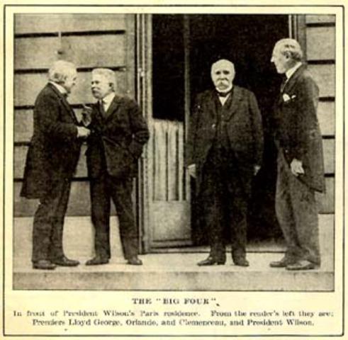 Paris Peace Conference/Treaty of Versailles