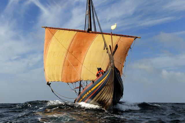 Vikingeskibet blev opfundet