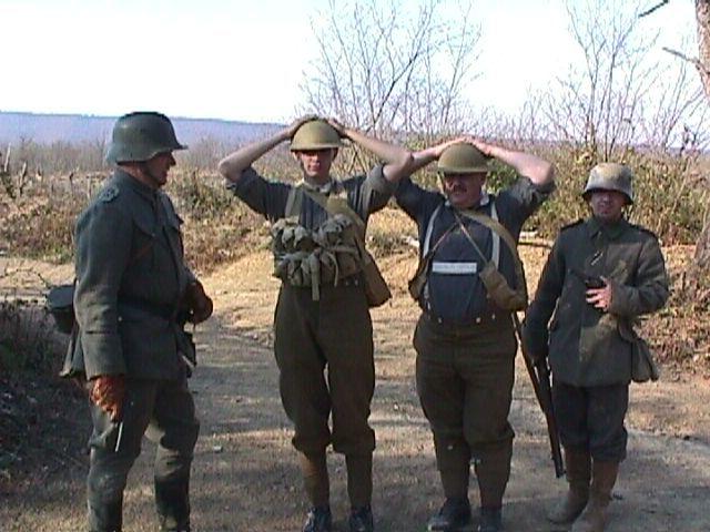 Vladek is captured in battle