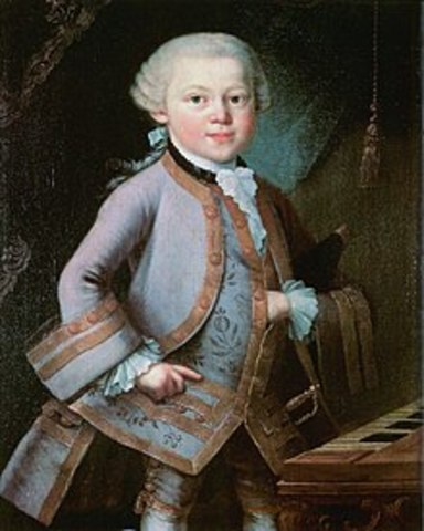 Birth of mozart