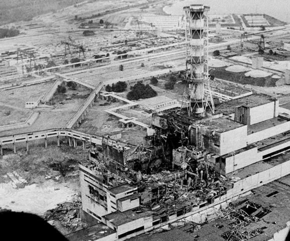 explosion centrale nuclé Tchernobyl (Ukraine)