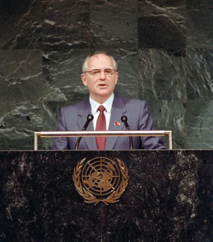 """discours G à ONU """"défenseur des valeurs humaines universelles"""""""