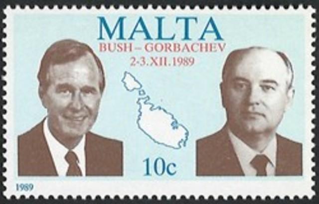rencontre au sommet Gorba-Bush
