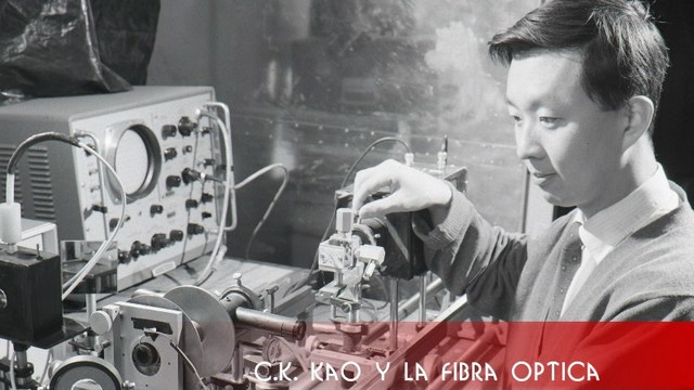 Charles Kao y la fibra optica