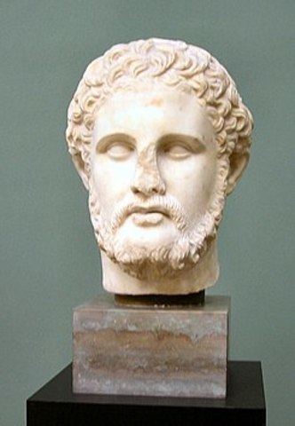 Filipo II rey de Macedonia