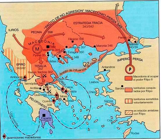 Liga Helénica contra Filipo