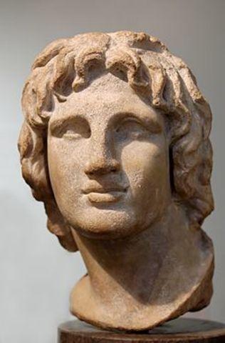 Filipo II muere
