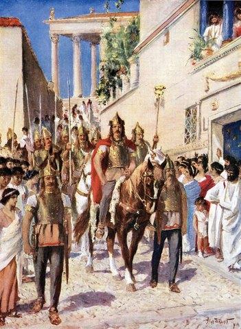 Saqueo de Atenas por el ejército de Sila