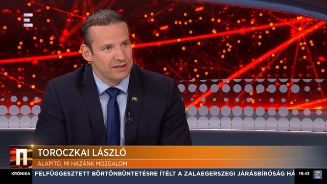 Toroczkai László bejelnti, hogy pártként folytatja a Mi Hazánk Mozgalom.