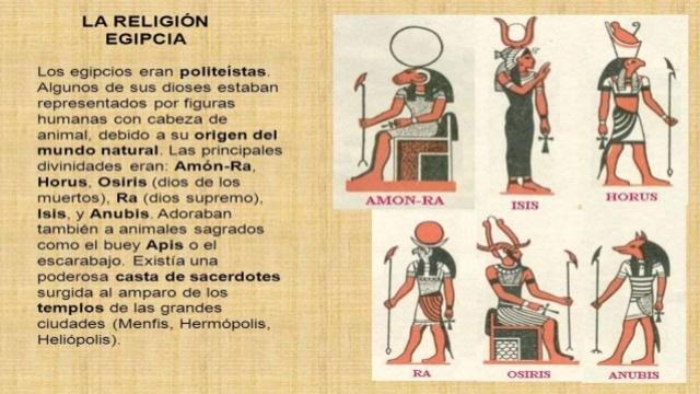 Religión de egipto antiguo