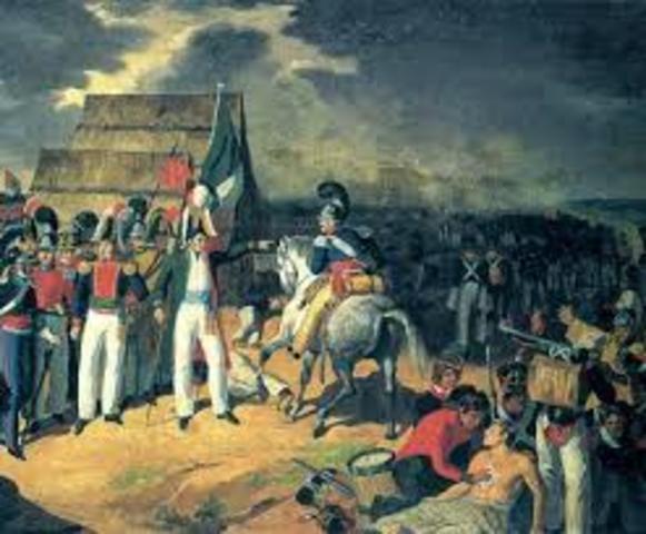 Antonio López de Santa Anna fue derrocado y enviado al exilio.