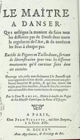 """Publicación de """"Le maitre á danser""""-Francia"""