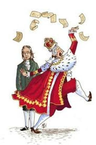 GEORGE III´S ATTEMPT OF ESTABLISHING TAXES FOR COLONISTS