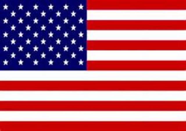 1763 - Independência dos Estados Unidos da América
