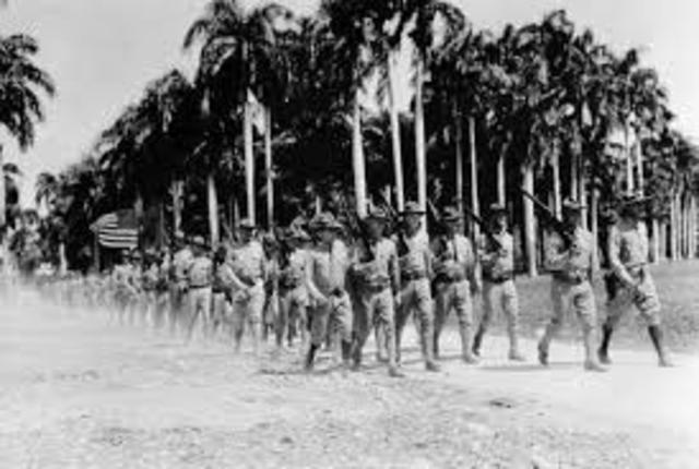 U.S. Marines occupy Haiti