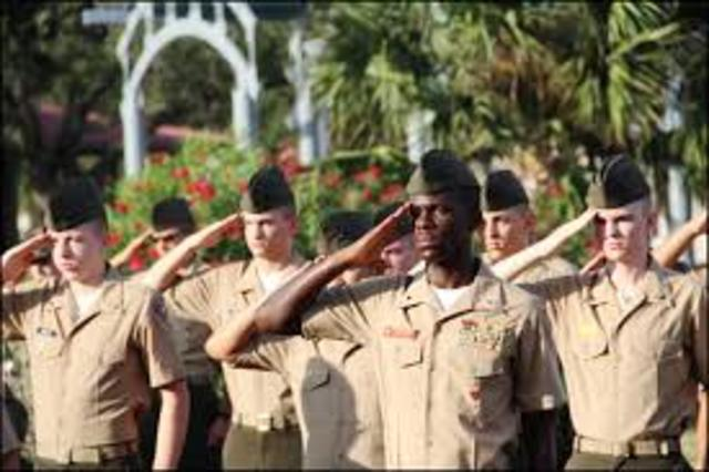 U.S. establishes a military academy