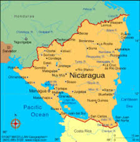 The free market in Nicaragua