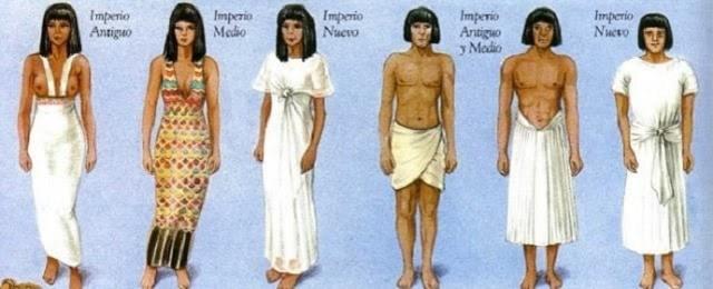 vestimenta Egipto
