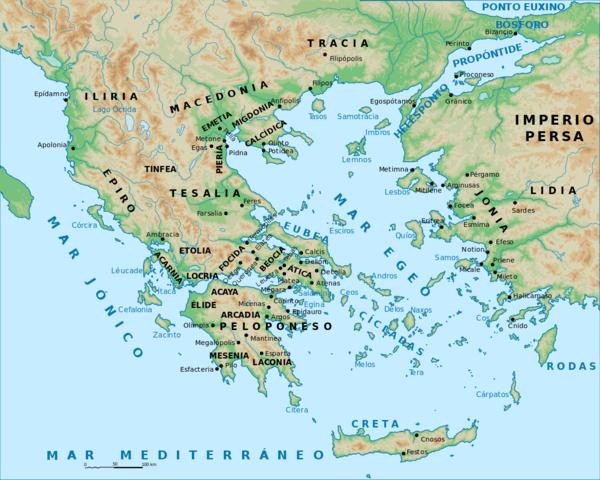 UBICACIÓN GRECIA