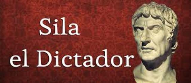 CORNELIO SILA EL DICTADOR