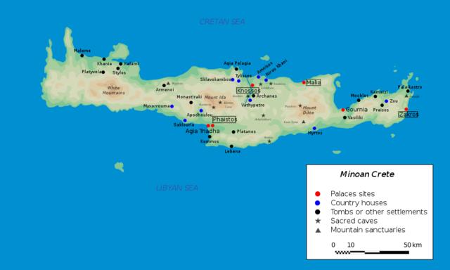 Aparició de la civilizació Minoica