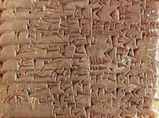 Aparició de l'escriptura