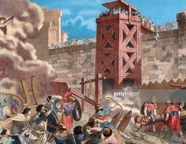 Annibale assedia Sagunto