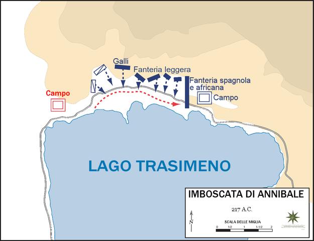 Battaglie presso il fiume Trebbia e Lago Trasimeno