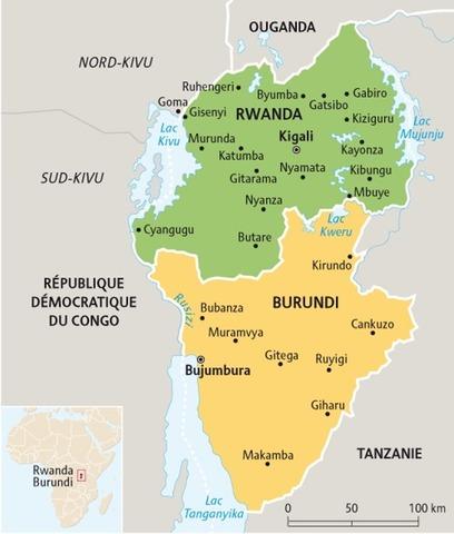 Ruanda-Urundi Splits into Rwanda and Burundi