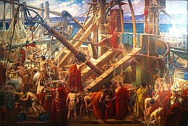 La controffensiva di Roma