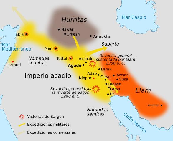 Creació de l'imperi  Accadi