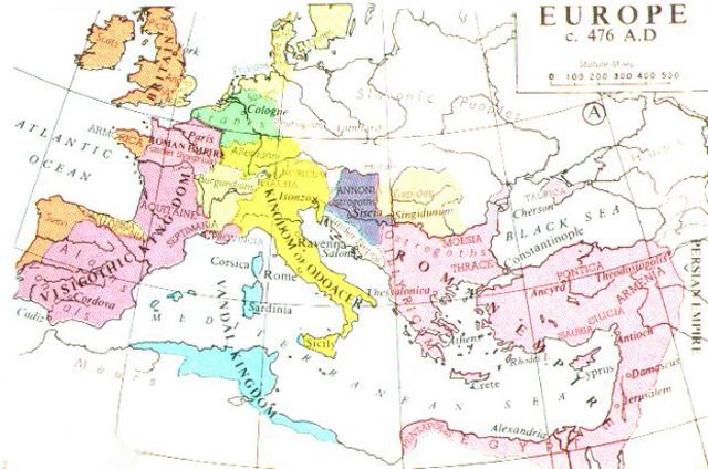 Caiguda de l' Imperi Roma d' Occident