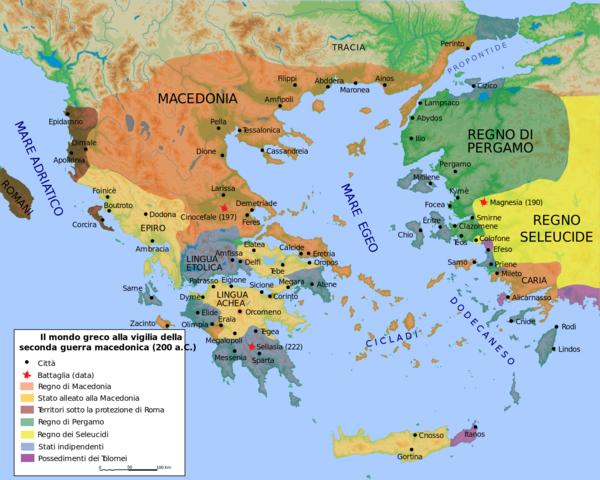 Roma dichiara guerra a Filippo V