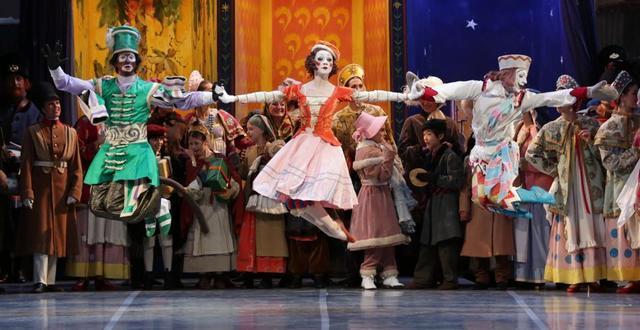 """""""Petrushka"""" de los Ballets Russes"""
