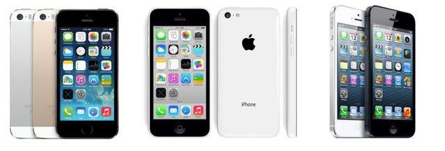 iPhone 5s y iPhone 5s