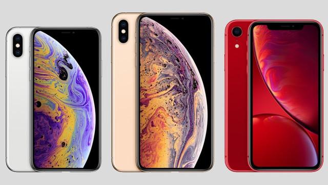 iPhone XS, iPhone XS Max y el iPhone XR