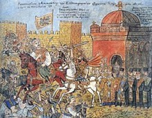 Battle - Fall of Constantinople