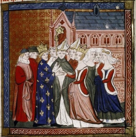 Marriage of Eleanor of Aquitaine to Louis VII of France