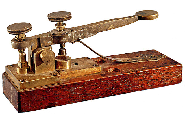 Samuel Morse made the first public demonstration of the electric telegraph
