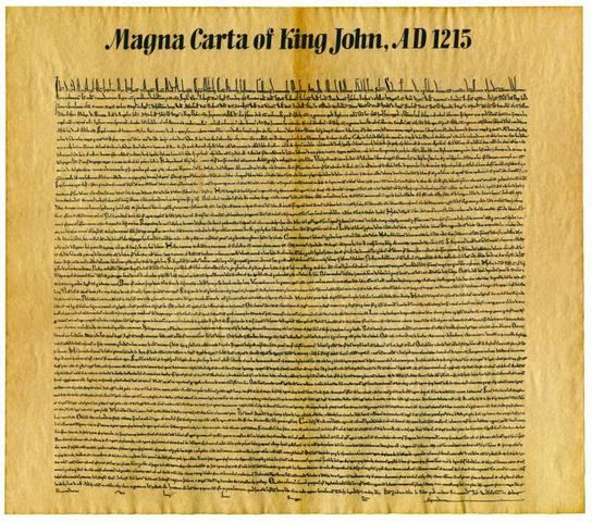 Important Documents: Magna Carta