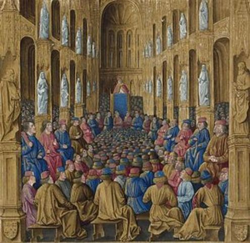 Important Documents (event): Council of Clermont