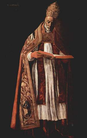 Gregory I as pope