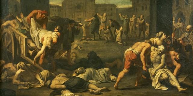 Church's reaction to the Plague