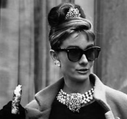 Audrey Hepburn's Little Black Dress Look