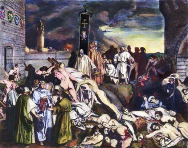 Crisis - Black Plague Originates